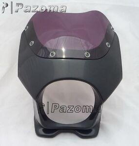 noir-Moto-5-034-Carenage-Phare-pour-CB50-DAX-gsx125e-AR50-80-125-CD50-RZ50