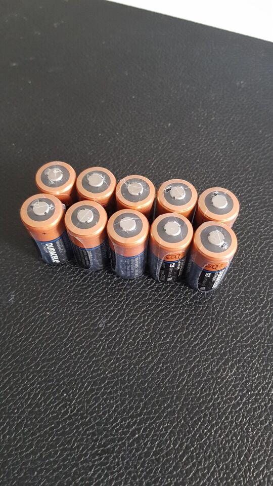 Batteri, Duracell, CR123 3V