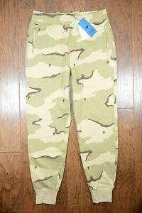 Lacoste LIVE HH1441 $145 Men's Rose Embroidered Camo Cotton Sweatpants M EU 4