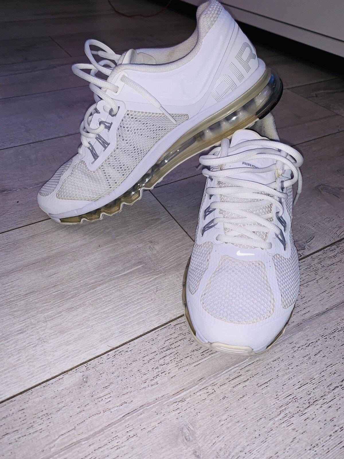 Nike air max 2013 alle weißen männer größe 9. 9. 9. 7ccd10
