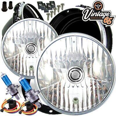 "MG Midget Classique en forme de dôme 7/"" sealed beam Halogen Conversion Headlight Kit"