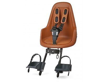 Kindersitz Vorne BOBIKE One Mini Braun - Chocolate Braun Mini 14c6c6