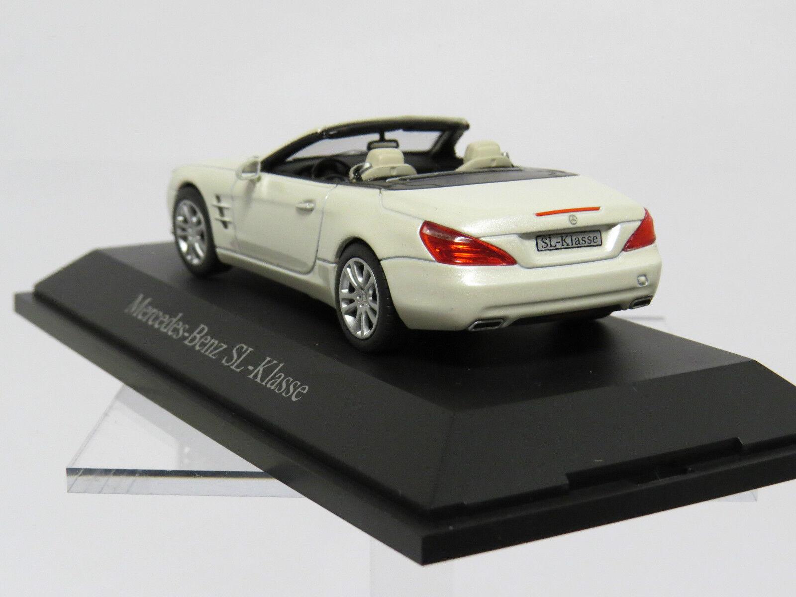 Mercedes Mercedes Mercedes Benz SL-Klasse 1 43 Diamond white metallic B66960104 be5f8f