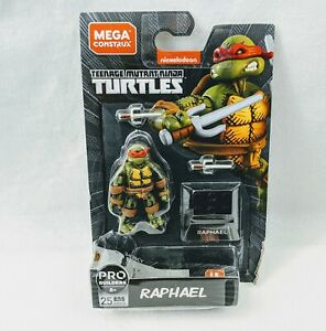 Mega Construx Black Series Wave 2 Raphael TMNT New