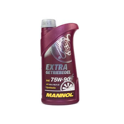 MANNOL Getriebeöl Extra Getriebeoel 75W-90 API GL 4/GL 5 LS 1 Stück á 1 Liter