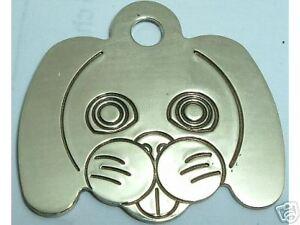 50 Doggie Id Tags Solid Brass Dog Pet Tag Ebay