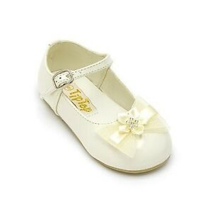 Infant /Toddler BABY GIRL DRESS FORMAL SHOES Wedding Church ...