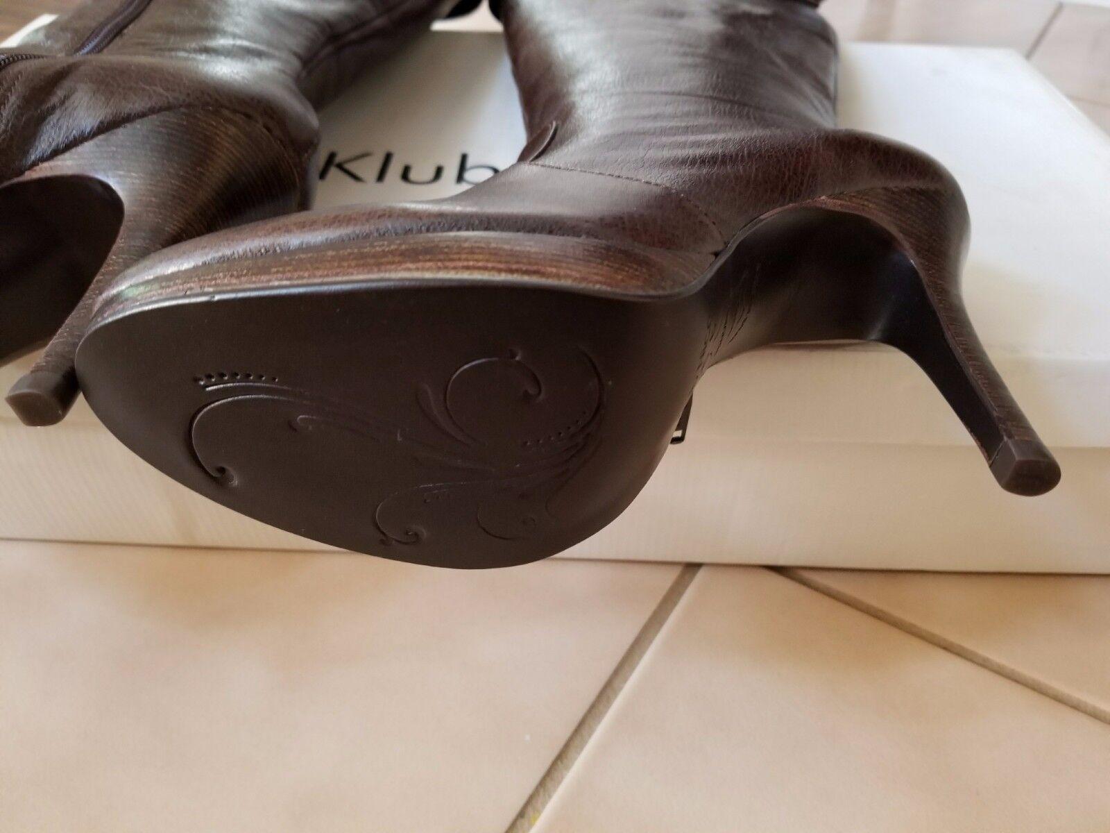 A estrenar en caja, hasta Klub Nico hasta caja, la rodilla para mujer color marrón blayke-Alto Bota 6 M 1cddde