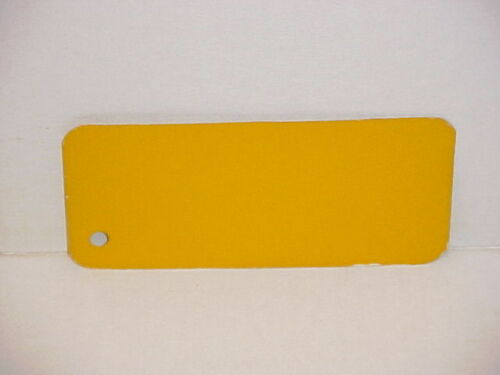 1936 1937 CHEVROLET TRUCK SHERWIN WILLIAMS PAINT CHIP COLOR SAMPLE ARMOUR YELLOW
