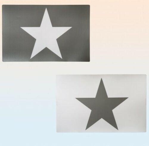 Tischset Stern Platzset Platzmatte Platzuntersetzer Sterne Stars abwischbar