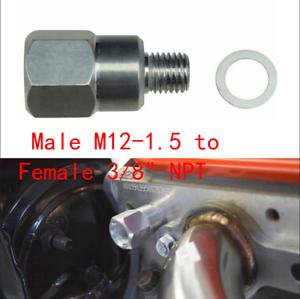 For LS Swap Gauge Sensor Adapter Coolant Temperature Sensor