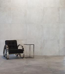 muster der betonoptik bodenfliesen broadway grau matt 80x80cm feinsteinzeug ebay. Black Bedroom Furniture Sets. Home Design Ideas