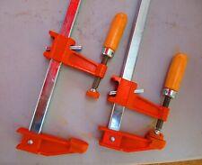 2 Jorgensen 3724 28 Inch Regular Duty Steel Bar Clamps Construction New