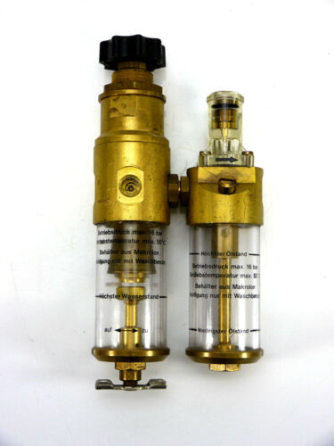 Bosch separador + lubricador 1/8max. 16 bar