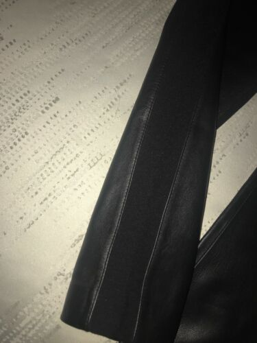 6 Melani Collection Antonio læderbukser 299 Ægte Luxury Størrelse YUqdzxZ1w