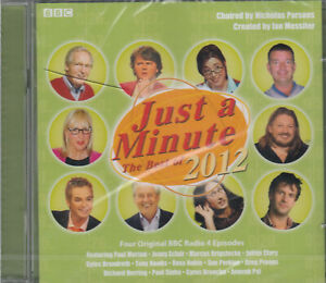 Just-A-Minute-The-Best-Of-2012-Audio-2CD-NEW-Comedy-Game-Show-BBC-Radio-4