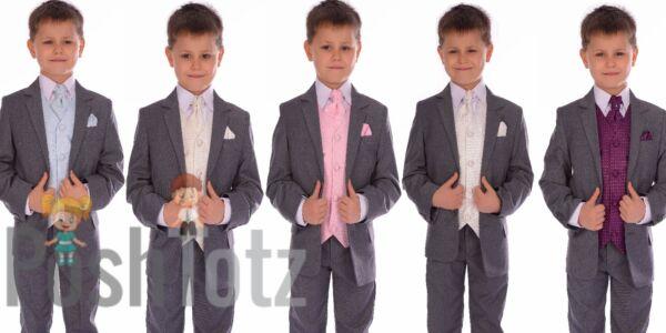 Ragazzi migliori Smoking Ragazzi Cena Suit Tuta di James Bond 1-16 anni