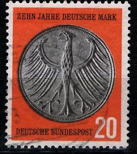 Bund Mi. - Nr. 291 mit Bahnpoststempel - Rodgau, Deutschland - Bund Mi. - Nr. 291 mit Bahnpoststempel - Rodgau, Deutschland