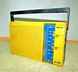 Vintage-Radio-PHILIPS-Model-D-1116-PHILIPS-RADIO-very-good-working