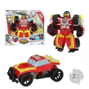 TRANSFORMERS-Rescue-Bots-Robot-electronique-Hot-Shot-voiture-25cm-Varie