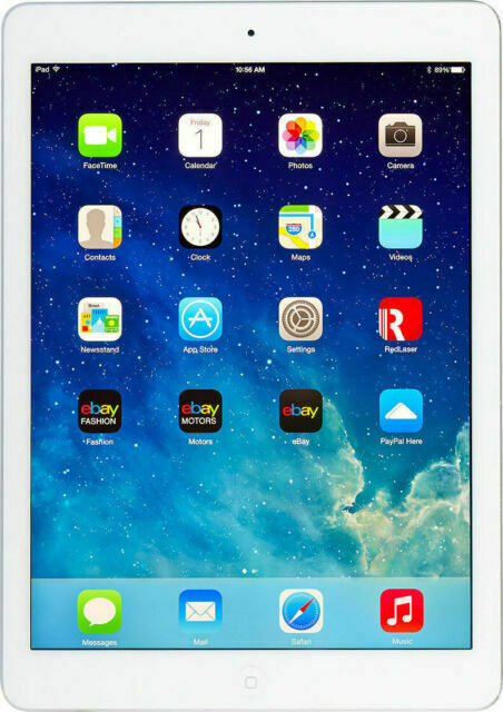 Apple iPad Air with WiFi 16gb Silver Latest Model Tablet 9.7