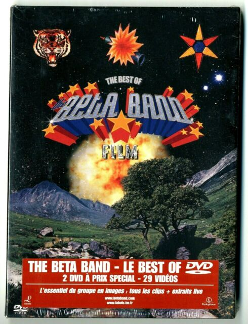 Box 2 DVD The Beta Band - Le Best Of (Musik Konzert) Neu unter Blister
