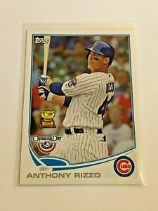 2013-Topps-Opening-Day-Baseball-Base-Card-80-Anthony-Rizzo-Chicago-Cubs
