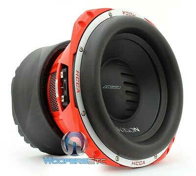 """ORION HCCA124 12"""" PRO 4000W DUAL 4-OHM COMPETITION CAR AUDIO SUBWOOFER SPEAKER"""