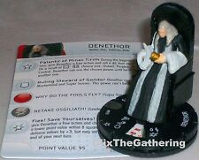 DENETHOR #013 Lord of the Rings: The Return of the King LotR HeroClix Rare