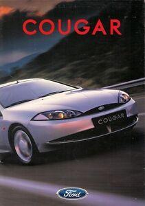 Ford-Cougar-1998-UK-Market-Launch-Foldout-Sales-Brochure-2-0i-16v-2-5-V6-24v-X