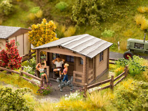NOCH-14361-Gauge-H0-Allotment-House-Laser-Cut-Minis-Kit-New-IN-Boxed