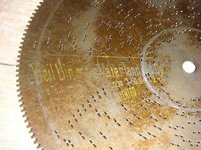 """Begeistert Heil Dir Mein Vaterland 19,5cm Platte Mit Außenverzahnung Germany Discs 7 5/8"""" Hell In Farbe"""