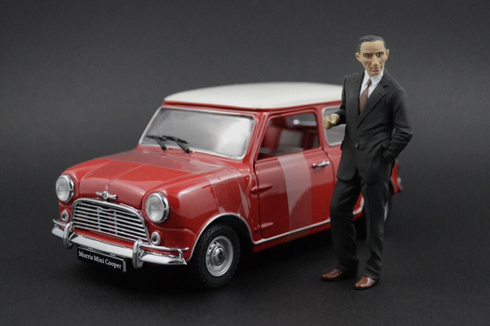 Alec Issigonis Figura per 1 18 AutoArt Mini Cooper Morris Very RARE