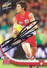 ✺Signed✺ 2009 SYDNEY SWANS AFL Card BRETT KIRK