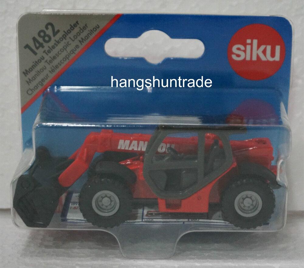 SIKU Manitou Telescopic Loader Super Scale Model Toy Gift