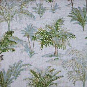 Tommy Bahama Island Breeze Green Palm Tree Tropical 3pc