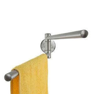 Badserie ambiente handtuchstange handtuchhalter edelstahl matt wand ebay - Handtuchhalter wand edelstahl ...