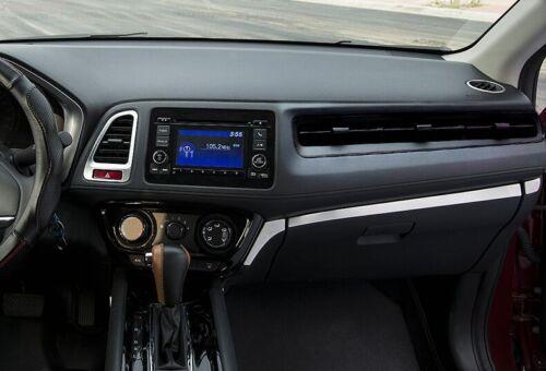 For Honda Vezel HR-V HRV 2014-2017 Glove Compartment Box Drawer Decor Trim Cover