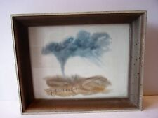 COLLECTIBLE WATERCOLOR ART PICTURE SIGNED AND FRAMED