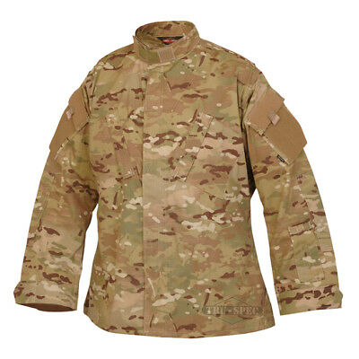 Multicam//Coyote Tru-Spec 65//35 Poly//Cotton RS TRU 1//4 Zip Combat Shirt