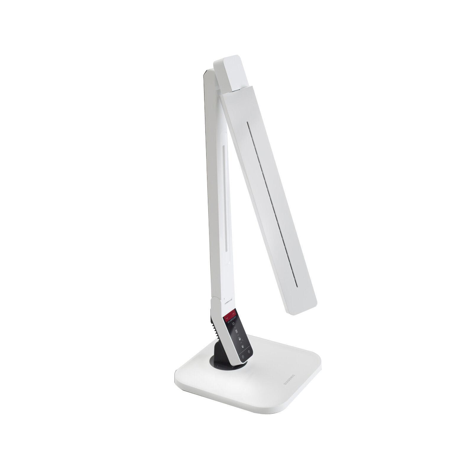 DIASONIC DL-95TH LED Desk Lamp Stand Timer USB Port For Home Office -blanco