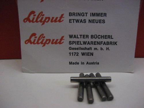 LILIPUT # 500.305 Präzisionsachsen Achsen für H0 Dampflok 5 Stück