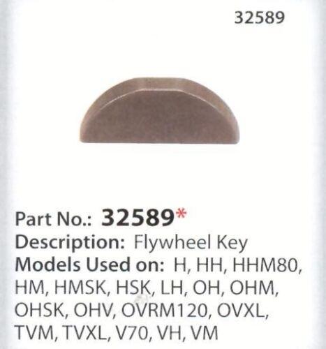 Tecumseh 32589 flywheel key models listed New genuine US Seller