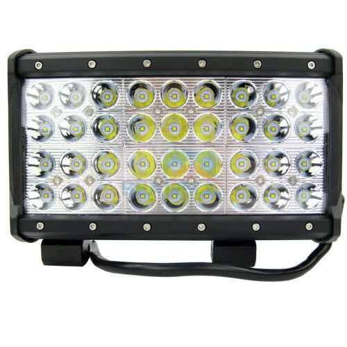"""108W CREE LED Marine Light Bar Spot for Boat Offroad Truck SUV 4 Row 10/"""" IP67"""