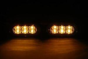VW-Caddy-MK3-04-LED-Indicadores-Repetidores-Laterales-De-Cristal-Claro-Par-Set-izquierda-derecha