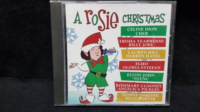 A Rosie Christmas by Rosie O'Donnell (CD, 1999 Sony Music Distribution (Canada))