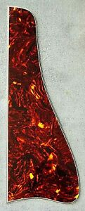 Gibson-ES150-Pickguard-Replica-Beveled-Gloss-Tortoise-For-Archtops-w-Bracket-New