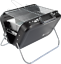 folding suitcase VALIANT portable charcoal bbq barbeque camping picnic beach