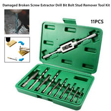5pcs Broken Head Remover Screw Extractor Drill Bits Easy Out Stripped Kit QK