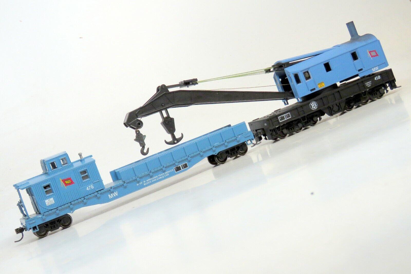 Cortar los trenes Personalizado Wabash grúa de 250-Ton y 50' tren de trabajo licitación mwkd 5 Windows
